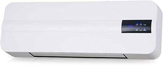 Calentacdor Eléctrico Termostato Digital 15-45 ℃ Calefactor Cerámico Split Pared Control Remoto Calentador De Baño Temporización 1-8H Adecuado para 20 Metros Cuadrados