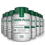 Cápsulas NMN, 300 mg, 60 cápsulas, aumentan naturalmente los niveles de NAD, suplemento de mononucleótido de nicotinamida, prueba de terceros (8 botellas)