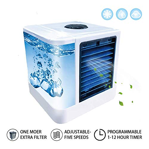 Tamong Personal Portable Air Conditioner Arctic Air Cooler with Two Filter