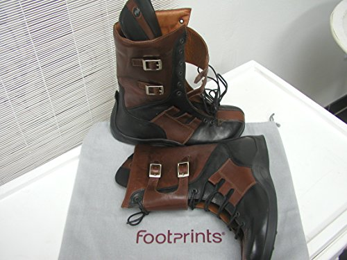 Footprints Stiefel ''Toledo'' aus echt Leder in Black/Brown 37.0 EU S