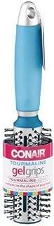 Conair Gel Grips Medium Nylon Round Brush, Assorted Colors 1 ea