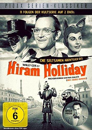 Die seltsamen Abenteuer des Hiram Holliday - 11 Folgen der Kultserie (Pidax Serien-Klassiker) [2 DVDs]