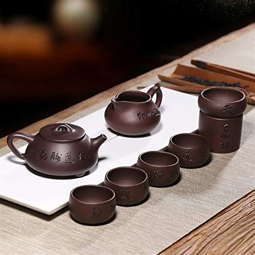 Learn More About Chinese Zisha Gongfu Tea Set Handmade Design Purple Sand Tea Pot Japanese Kung Fu T...
