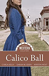 Kristin Holt | Cover image: Calico Ball: A Timeless Western Collection. For sale on Amazon.