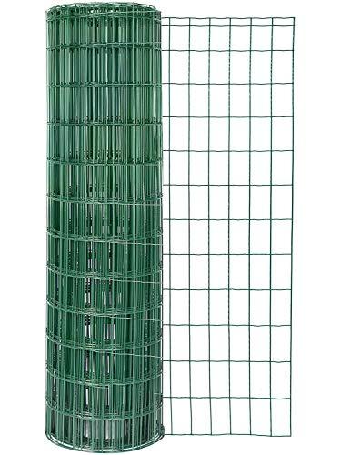 GAH-Alberts, grün 604981 Schweißgitter Fix-Clip Pro wahlweise in verschiedenen Farben | kunststoffbeschichtet, Höhe 81 cm | Länge 10 m