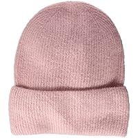 PIECES Pcjosefine Wool Hood Noos Gorro de Punto, Rosa (Peachskin Peachskin), Talla única para Mujer
