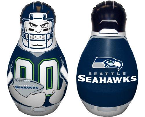 Fremont Die NFL Tackle Buddy Boxsack, aufblasbar, 101,6 cm hoch, Unisex-Erwachsene, 95714, Teamfarben, Einheitsgröße