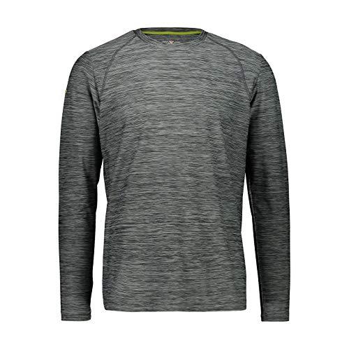 CMP F.lli Campagnolo T-Shirt à Manches Longues pour Homme avec Technologie Dry Function Jungle Mel, 58