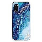 wonfurd Samsung Galaxy A41 Case Marble Design - Cute Girls