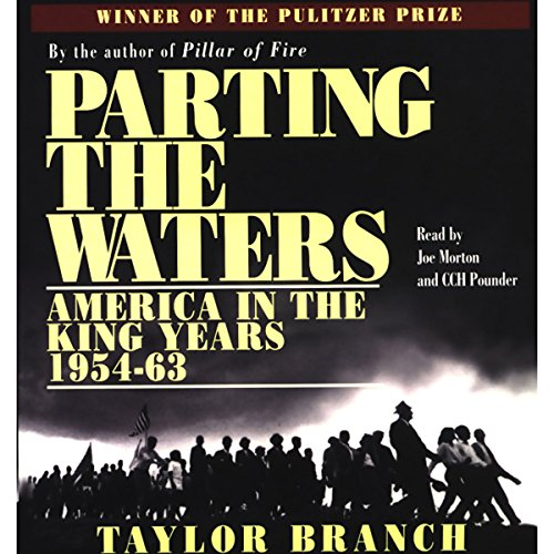 Parting the Waters audiobook cover art