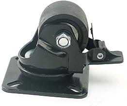 WSWJ Laag zwaartepunt Met Brake Casters Dual-dragende Nylon Wheel (Color : C-Brake wheel)