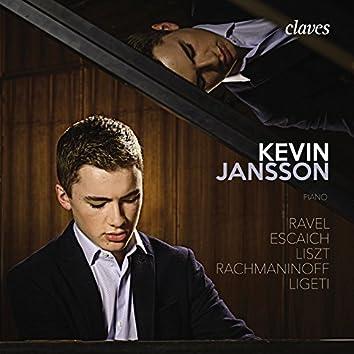 Ravel, Escaich, Liszt, Rachmaninoff & Ligeti: Works for Piano