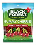 Black Forest Gummy Cherries Candy, 4.5 Ounce, Pack of 12