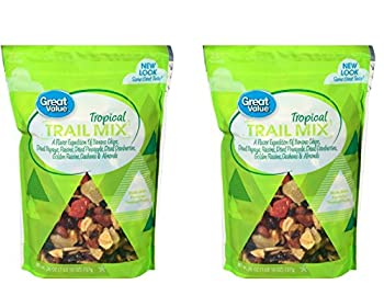 Tropical Trail Mix 26 oz Bag by Great Value  2 packages