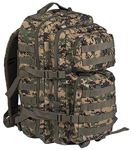 Mil-Tec US Assault Pack Backpack (Large/Digital Woodland)