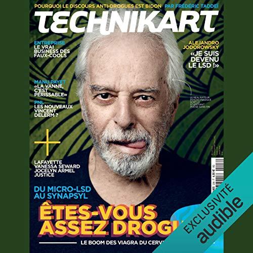 Couverture de Technikart. L'avenir est en vente libre - Octobre 2018