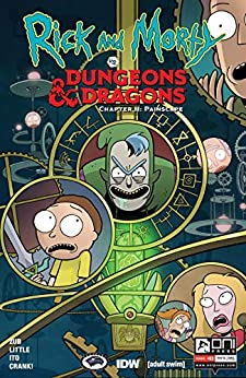 Rick and Morty vs. Dungeons & Dragons II #3: Painscape by [Jim Zub, Troy Little, Leonardo Ito]
