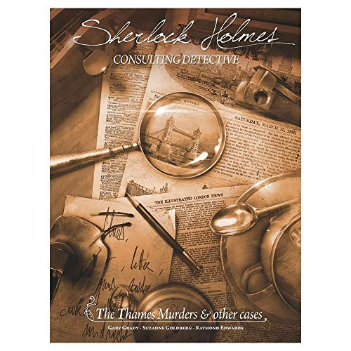 Asmodee Sherlock Holmes Consulting Detective Themsesmorde Spiel
