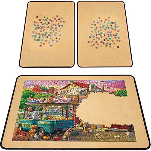 1000 Piece Jigsaw Puzzle Board Portable - 23