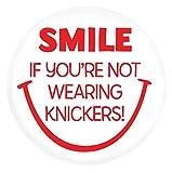 Photo de Brainbox Candy Smile n'Knickers38mm badge par