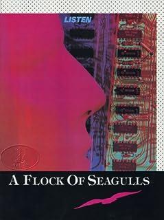 A Flock Of Seagulls 1983 Listen Tour Program Tourbook Programme