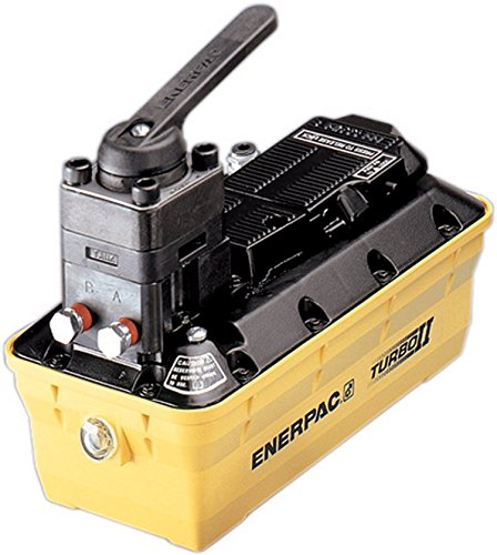 Enerpac PAMG-1402N Turbo II Air Hydraulic Pump with 4 Way Manual Valve and 2 Liter Reservoir