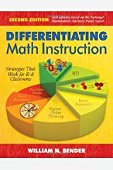 Differentiating Math Instruction: Strategies That Work for K-8 Classrooms Capa comum