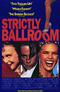 Movie Posters Strictly Ballroom - 11 x 17