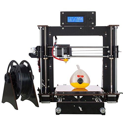Stampante 3D A8 Prusa I3 Desktop Stampante 3D , Stampa ad alta Precisione e veloce di modelli 3D (120 mm / s), Stampante con ABS / PLA 1,75 mm ( Stampante 3D A8)-Win-tinten