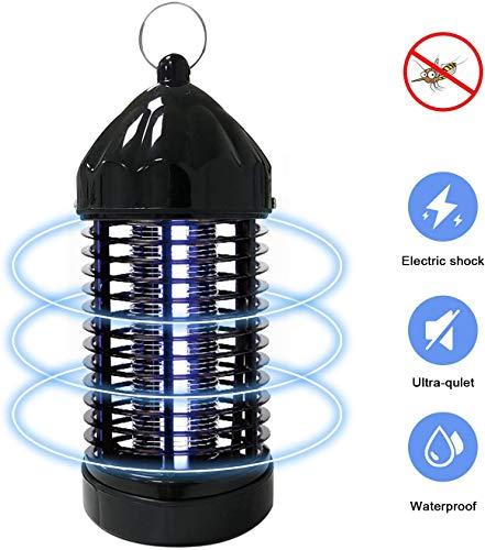 FRGHF Elektrischer Insektenvernichter, Insektenkiller Mückenlampe Insektenvernichter UV Insektenfalle Mückenlampe Elektrischer Insektenkiller für Schlafzimmer, Büro