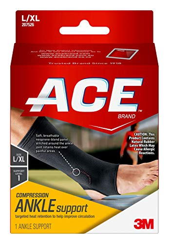 ACE Elasto-Preene Ankle Support, Support to sprained or strained ankle, Satisfaction Guarantee, MI207526