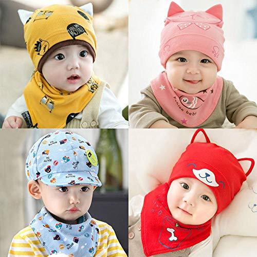 Aibccr Sommer Neugeborene 6 bis 12 Monate Baby Hut Frühling und Herbst 1 Jahr Alter Junge Kind Baby Mädchen 0 fremden Stil dünn