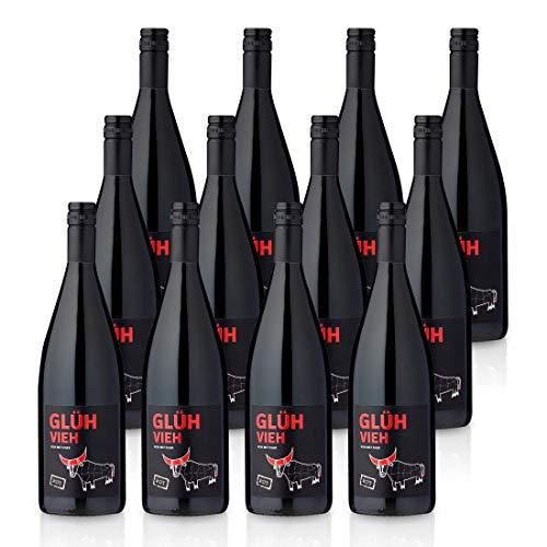GLÜHVIEH Glühwein Rot Pfalz - Weingut Metzger (12x 1,0l)