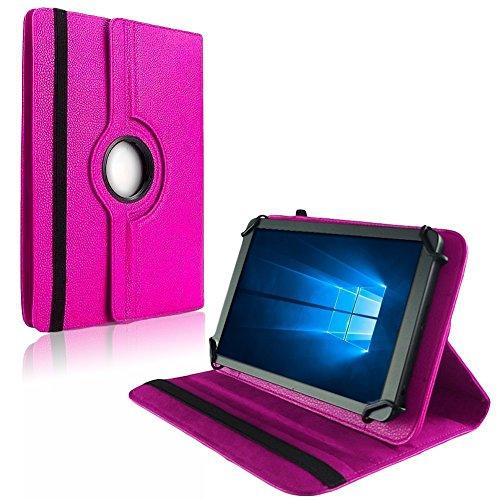 na-commerce Tablet Hülle für TrekStor SurfTab Wintron 7.0 Tasche Schutzhülle Hülle Cover Bag, Farben:Pink
