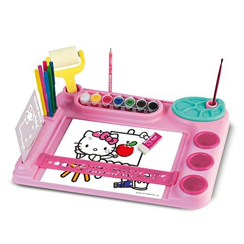 Grandi Giochi- Base Creativa Hello Kitty, Colore multicolr, GG02322