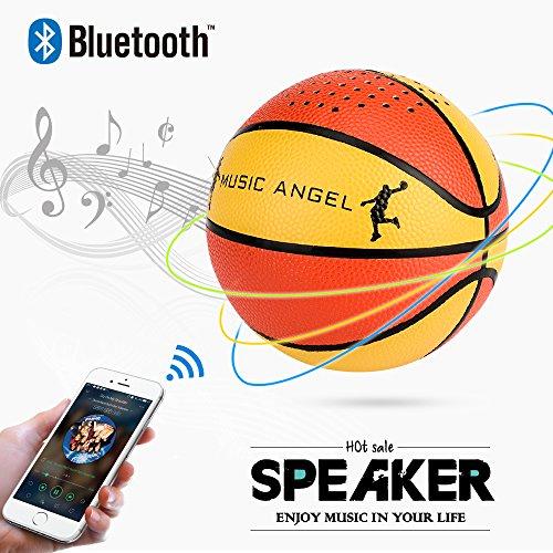 MUSIC ANGEL Touch Bluetooth Lautsprecher Kabellose Portabler 24 Stunden Akkulaufzeit Dual-Treiber Wireless,with Mikrofon und Reinem Bass