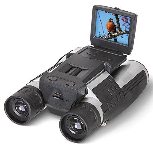 Express Panda® 5,1 cm LCD Display Digitalkamera Fernglas Kamera Teleskop 12 x 32 5 MP Video Foto Recorder mit Free 4 GB TF Karte zum Ansehen von Bird Concert Fußball Spiel