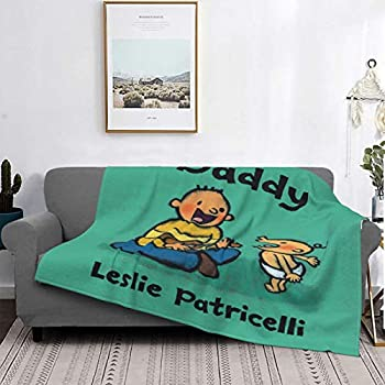 Toot Leslie Patricelli Must Sees Ultra-Soft Micro Fleece Blanket Couch Luxury Blanket for Bedding Sofa and Travel Micro Fleece Blanket 80 x60