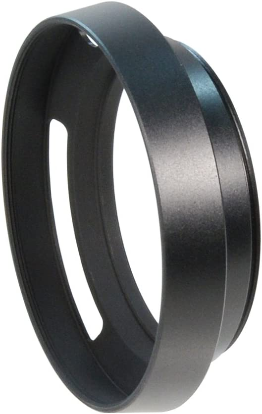 CamDesign 58mm Pro Angle Vented Metal Lens Hood Sun Shade Compat