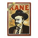 hutianyu Klassischer Film Citizen Kane Vintage Poster Druck