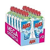 Ajax Detersivo Pavimenti Classico Freschezza e Pulito, Formula Biodegradabile al 93%, 12 x 950ml