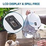 Levoit LV110WP-3X kanne wasserfilter krug wasserreiniger, BPA-frei und lebensmittelechter Kunststoff, weiß, 27cm × 14cm × 25cm - 3