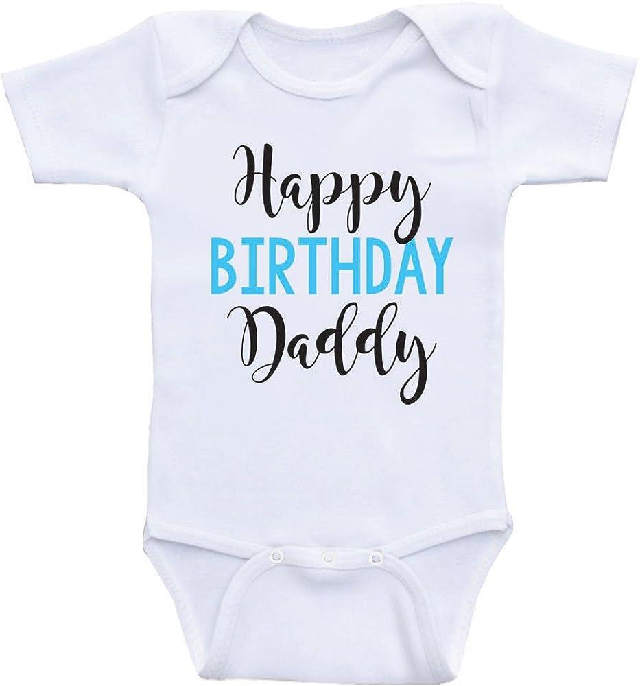 Dad/'s Birthday Baby Girls Daddy Gift Happy Birthday Daddy Bodysuit Baby Boys Bodysuit Baby Father Gift New Dad Dad Birthday Bodysuit