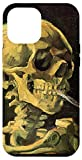 iPhone 12 Pro Max Skull of Skeleton with Burning Cigarette by Vincent van Gogh Case
