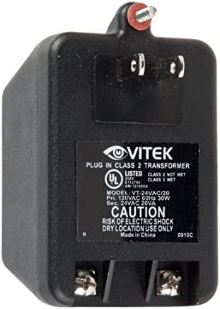 Accessory USA AC DC Adapter for Vitek VT-EH Series VT-EH8 8 Channel DVR Digital Video Recorder VTEH8 Power Supply Cord