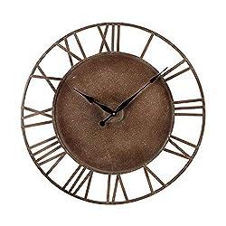 Sterling Industries 128-1002 Metal Roman Numeral Outdoor Wall Clock. - Best Price Most Popular New Brand Great Reviews Low Priced Big Savings Gift Present Men Women Kids Trendi