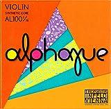 """Thomastik Cuerdas para violín ALPHAYUE alma en nylon, juego 1/16, escala 215mm / 8.5"""""""