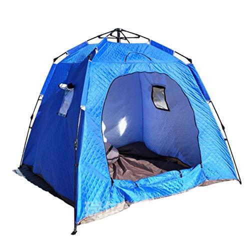 JX-ZHANGPENG Kamp Tent Karper Visserij Shelter Tent Snelle directe Outdoor Overnight Shelter, voor Strand, Tuin En Vissen,Blauw