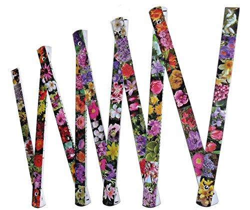 Der Blumen-Zollstock: Die vier Jahreszeiten im Garten (Die Zollstock-Edition)