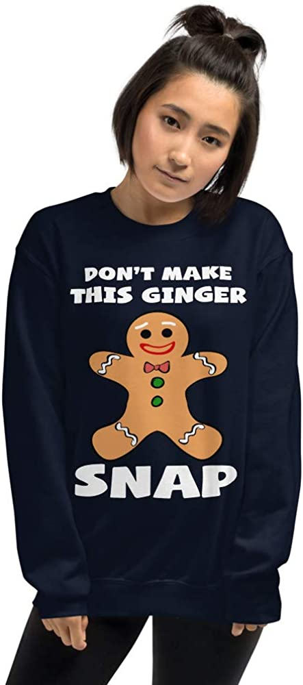 lucoin Christmas Sale special price Super-cheap Gingerbread Don't Make Ginger Unisex Snap This